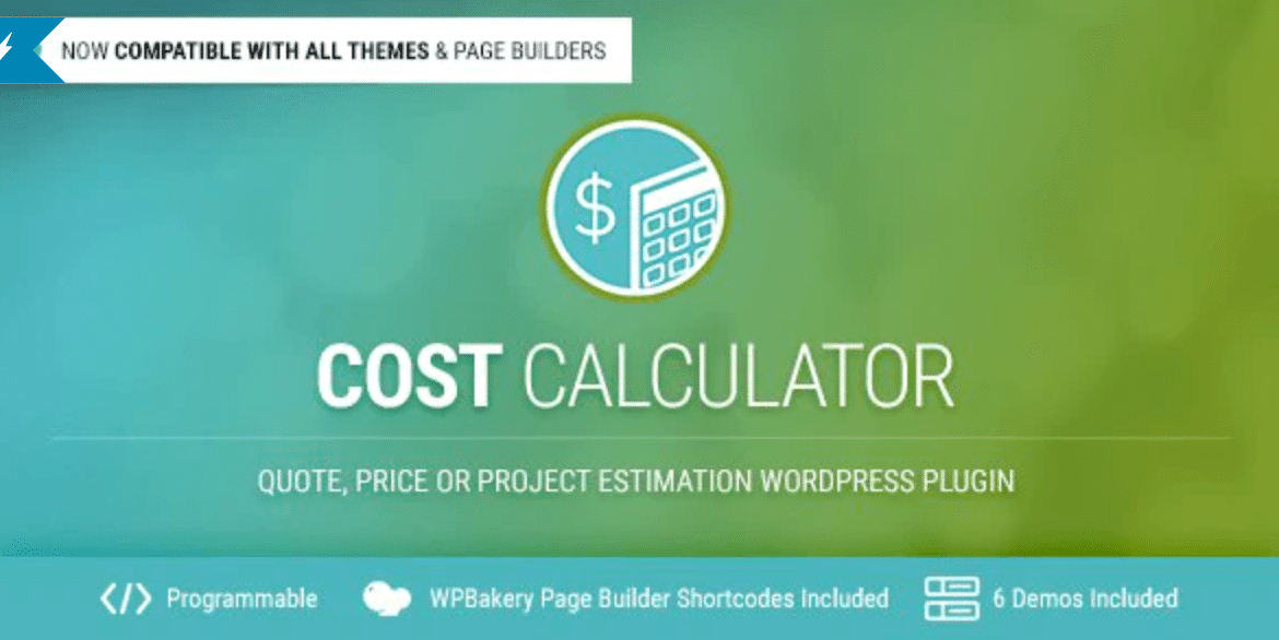 Cost Calculator WordPress